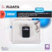 «Флешка USB 2.0 16Gb Ridata Black TINY-S  OD6B»