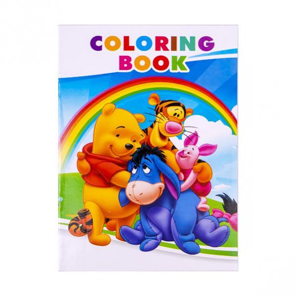 """Раскраска А5 с наклейками """"Мишка и его друзья""""- купити за ..."""